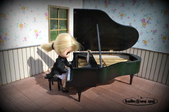 Mini grand piano (pe.kalina) Tags: scale miniature doll furniture piano grand blythe petite forte miniatura dollhouse furnitures