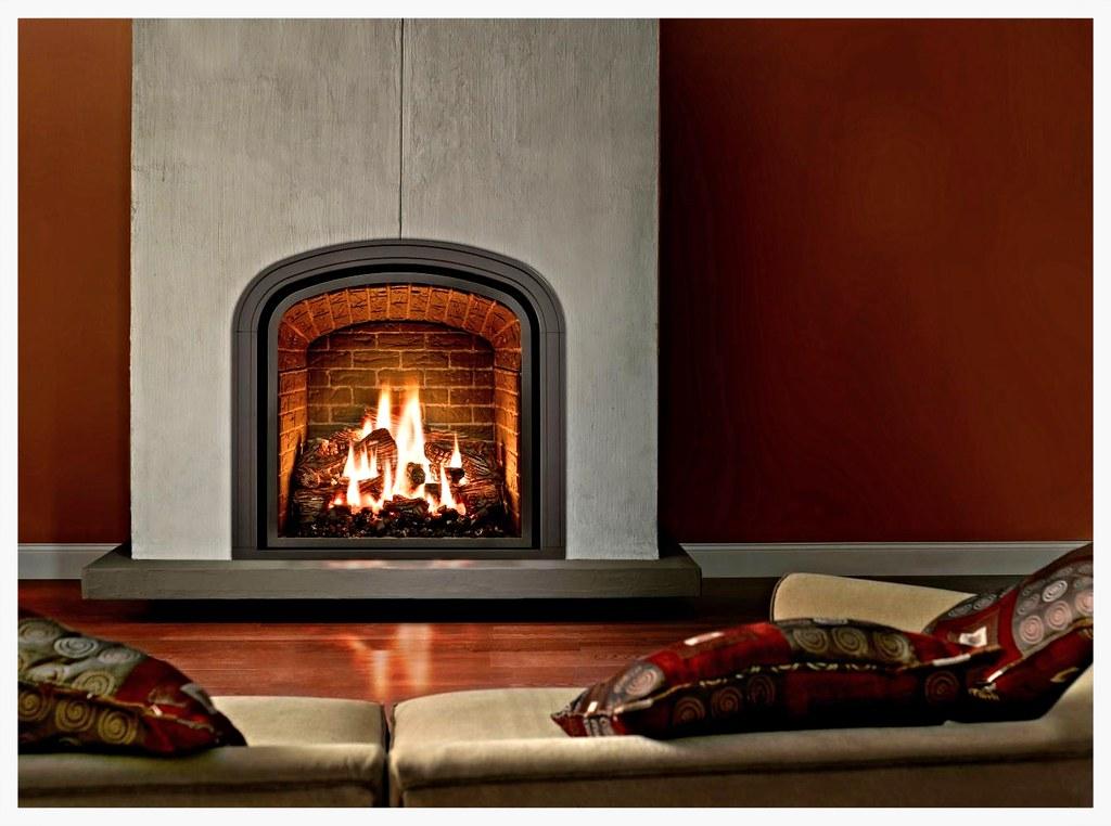 Mendota M-50 Greenbriar direct vent fireplace