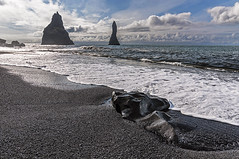 Vik (Francisjsm) Tags: beach island iceland islandia sand playa vik arena
