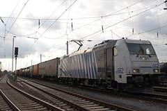 Lokomotion/WLC 185 662 in Mainz-Bischofsheim. (Niklas_Eimers) Tags: train canon lokomotive lok traxx bombadier gterzug wlc elok lokomotion br185 klv 20150918