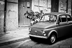 Old Fiat 500 @ Agrigento (Sicily)