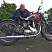John Snr and his 1947 BSA B31 350cc