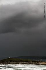 Stormy (rhfo2o - rick hathaway photography) Tags: sea storm rain clouds canon dark seaside cornwall surf waves newquay fistralbeach pentirehead canoneos7d rhfo2o