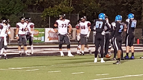 "Woodland Hills vs. Upper St. Clair - Oct 2, 2015 • <a style=""font-size:0.8em;"" href=""http://www.flickr.com/photos/134567481@N04/21713550300/"" target=""_blank"">View on Flickr</a>"