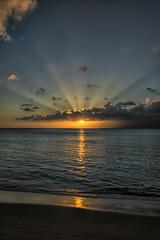 Blue Hour Sunset @ Napili Bay - Stage 2 (<e.cel8>) Tags: sunset beach hawaii maui napili