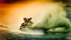 Jetski action (Subdive) Tags: jetski watercraft västerås seadoo mälaren