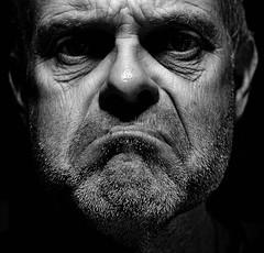 Les Miserable ! (CJS*64) Tags: portrait people bw monochrome face mono blackwhite nikon sad nikkor miserable unhappy sado forlorn cjs whiteblack nikkorlens nikonflickraward nikond7000 craigsunter cjs64