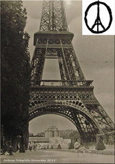 Paris trägt Trauer! - Paris puts into mourning!