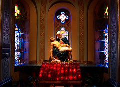 The Piet (FrogLuv) Tags: mary jesus detroitmichigan piet stmaryromancatholicchurch historicgreektown