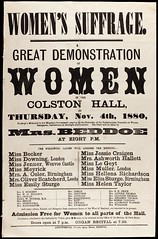 Great Demonstration of Women1880-11-04