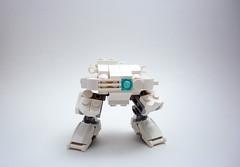 KS-612 'Scylla' Unarmed (Jay Biquadrate) Tags: lego frame mecha mech moc microscale mfz mf0 mobileframezero