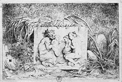 La famille du Satyre de J.-H. Fragonard (musée du Luxembourg, Paris) (dalbera) Tags: paris france fragonard nymphe eauforte satyre dalbera muséeduluxembourg