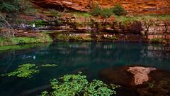 Emerald Waters (Rodney Campbell) Tags: water au australia wa westernaustralia cpl karijini dalesgorge