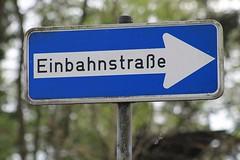 """Die Einbahnstraße. Die Einbahnstraßen. • <a style=""""font-size:0.8em;"""" href=""""http://www.flickr.com/photos/42554185@N00/23027951262/"""" target=""""_blank"""">View on Flickr</a>"""