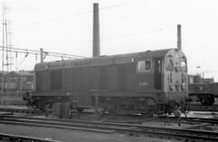 PHX001 200469 Willesden D8011 (The KDH archive) Tags: 1969 railway willesden 20011 class20 d8011