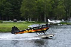 TAYLORCRAFT TAYLORCRAFT-BC (surferjaws) Tags: lake alaska airplanes anchorage hood base seaplane floats seaplanes