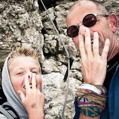 Dolomites 2010 (Gatersleben) Tags: alps jeroen familie richard bergen alpen zelfportret sella italie altoadige canazei mensen zomervakantie bergwandelen dolomieten pizboe gatersleben jeroengatersleben