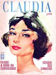 CLAUDIA Magazine (June 1962) (KlaatuCarpenter) Tags: audreyhepburn brunno claudiamagazine magazinecover