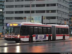 Toronto Transit Commission #9100 (vb5215's Transportation Gallery) Tags: toronto bus nova ttc transit commission artic lfs 2014