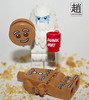 CookieMonster (mikechiu86) Tags: snow snowman cookie lego gingerbread gingerbreadman abominable dunkme