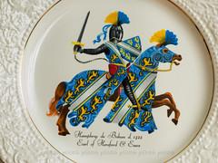 (plitch) Tags: horse de heraldry arms coat helmet plate battle crest armor sword knight shield earl humphrey harness hereford essex porcelain blason bohun plitch plitchphotostream
