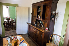 Kitchen and Dining Room (Serendigity) Tags: lincoln wildwest usa newmexico unitedstates historic town museum