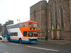 Strathtay - 954 - M954XES - Traction-Group20050352 (Rapidsnap (Gary Mitchelhill)) Tags: strathtay strathtaybuses forfar buses greyday gloomy scotchmist