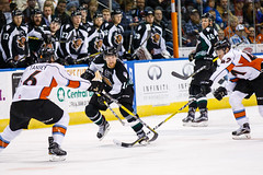 "Missouri Mavericks vs. Utah Grizzlies, December 28, 2016, Silverstein Eye Centers Arena, Independence, Missouri.  Photo: John Howe / Howe Creative Photography • <a style=""font-size:0.8em;"" href=""http://www.flickr.com/photos/134016632@N02/31121359554/"" target=""_blank"">View on Flickr</a>"