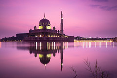 Putra mosque (Patrick Foto ;)) Tags: allah architecture asia asian beautiful building city culture dome dusk evening famous islam islamic kuala lake landmark landscape lumpur malaysia masjid minaret modern morning mosque muslim nature pray putra putrajaya red reflection religion river scene sky structure sunrise sunset tourism travel view water wilayah worship wilayahpersekutuanputrajaya my