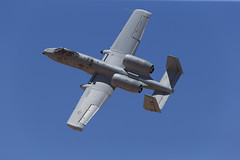"""Fairchild Republic A-10C Thunderbolt II of the Michigan ANG's 107 FS """"Red Devils"""" from Selfridge ANG Base (Norman Graf) Tags: red devils 107fs 107thfightersquadron 127wg 127thwing 780641 a10 a10c ang airnationalguard aircraft airplane cas closeairsupport davismonthanafb fairchildrepublic hawgsmoke2016 jet mi miang michiganairnationalguard militaryexercise plane selfridgeairnationalguardbase thunderboltii usaf unitedstatesairforce warthog reddevils"""