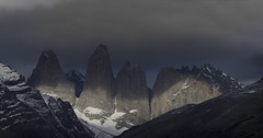 Chile (richard.mcmanus.) Tags: chile torresdelpaine mountains clouds nationalpark landscape mcmanus gettyimages southamerica