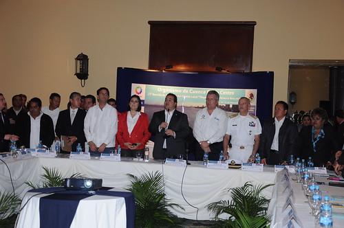 "El gobernador Javier Duarte de Ochoa asiste a 23a reunión de Titulares del Comité Local ""Playas limpias"""