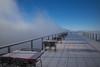 hallelujah (Toni_V) Tags: m2402591 rangefinder digitalrangefinder messsucher leicam leica mp typ240 type240 28mm elmaritm12828asph elmaritm hiking wanderung randonnée escursione rigikulm fog mist nebel vitznaurigikulmarthgoldau perspective terrasse aussichtsplattform schwyz switzerland schweiz suisse svizzera svizra europe alps alpen sky winter ©toniv 2016 161227