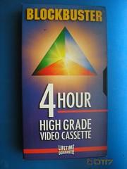Blockbuster - Blank Tape (daleteague17) Tags: blank vhs tapes blankvhstapes pal palvhs videotape blankvideotape blockbuster