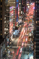 Late night wandering (dansshots) Tags: nyc newyorkcity newyorkatnight dansshots nikon nikond750 longexposure traffic