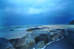 Kings Cliff - NSW (andrewdavis15) Tags: longexposure 10stop northernriversnsw ocean storm beach coast kingscliff