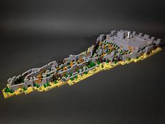 Rebuilding the walls of Jerusalem (Calvin Sun) Tags: lego bible landscape micro
