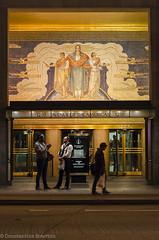 LrEd-0209 (cospic7) Tags: usa unitedstates newyork newyorkcity nyc manhattan street urban architecture art mosaic decoration detail rockefeller rockefellercentre night