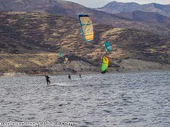 #flashback to nicer weather. #kitesurfers on #deercreek reservoir. #explorediscovershare #photo #photography #photograph #olympus #olympusomd #getolympus #mirrorless #mirrorlesscamera #kiteboarding #kitesurfing #sports #water #picoftheday #photoofday #fli (explorediscovershare) Tags: instagram flashback nicer weather kitesurfers deercreek reservoir explorediscovershare photo photography photograph olympus olympusomd getolympus mirrorless mirrorlesscamera kiteboarding kitesurfing sports water picoftheday photoofday flickr
