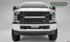 Bold New 2017 Ford Super Duty Grilles Now Available From T-REX (vividracing) Tags: 4x4 aftermarket aluminum grilles led lightbars offroad pickuptrucks replacement stealth superduty trex trucks