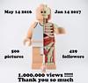 MY FIRST MILLION VIEWS PICTURE (Alex THELEGOFAN) Tags: lego legography minifigure minifigures minifig minifigs minifigurine jason freeny big fig million anatomy skeleton me pseudo alex thelegofan alexandre pozzi
