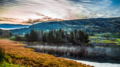 Peaceful morning (Kamil Malecki Photography) Tags: lake fog sunrise forest morning sky reflection water countryside ireland ring kerry