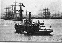 Waratah (UON Library,University of Newcastle, Australia) Tags: stockton stocktonhistory maritime shipping newcastlehistory waratah newsouthwales australia