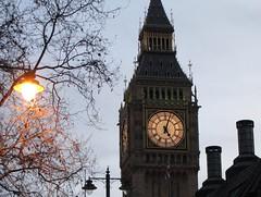 Big Ben at 5 o'clock. (JeffreyMeijer) Tags: london big ben england bigben clock clocktower tower