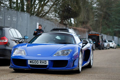M600 (MJParker1804) Tags: noble m600 rhd british v8 twin turbo blue super veloce racing svr
