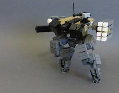 KR-27 овчарка (Dryvvall) Tags: mech robot walker drone railgun tank vertical bipedal metalgear