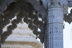 Temple (mariola aga) Tags: bartlett thebapsshriswaminarayanmandirofchicagoillinois temple architecture closeup details thegalaxy