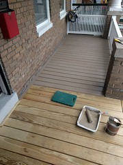 2017-02-28 13.16.59 (whiteknuckled) Tags: frontporch ouroldrowhouse porch front yard exterior deck decking railing outside