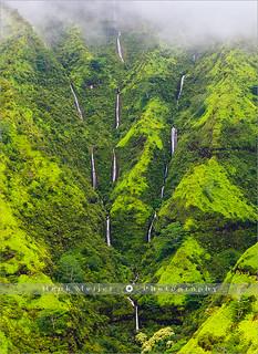 The Weeping Wall - Kauai - Hawaii