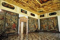 Munich (Alemania). Residenz. Sala del Príncipe (santi abella) Tags: munich münchen baviera bayern alemania germany palacioresidenzdemunich tapices
